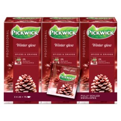 Thee Pickwick wintergloed 25 zakjes van 2gr