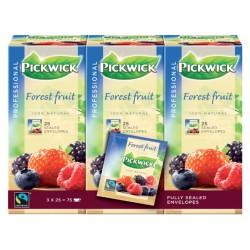Thee Pickwick Fair Trade bosvruchten 25 zakjes van 1.5gr