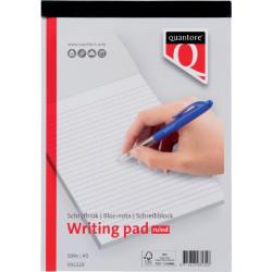 Schrijfblok Quantore A5 gelinieerd