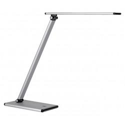 Bureaulamp Unilux Terra aluminium grijs