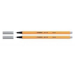 Fineliner STABILO point 88/94 licht grijs