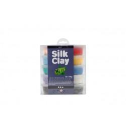 Klei Silk Clay basis 1 40gr assorti