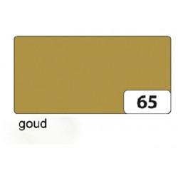 Fotokarton Folia 2zijdig 50x70cm 300gr nr65 goud
