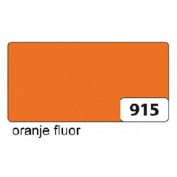 Etalagekarton folia 48x68cm 380gr nr915 fluor oranje