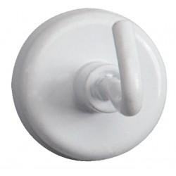Magneet met haak MAUL 25mm trekkracht 3kg wit