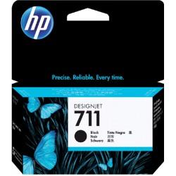 Inkcartridge HP CZ129A 711 zwart