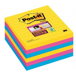 Memoblok 3M Post-it 675-SSRO Super Sticky 101x101mm Rio