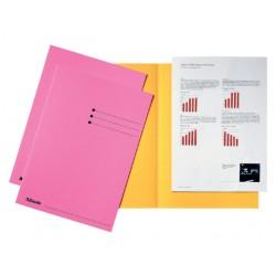Inlegmap Esselte 180gr karton roze