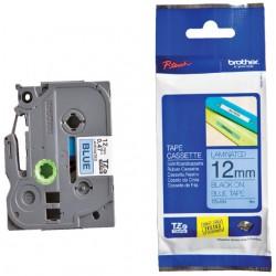 Labeltape Brother P-touch TZE-531 12mm zwart op blauw