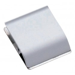 Klemlijst MAUL 3.5x4cm aluminium zelfklevend