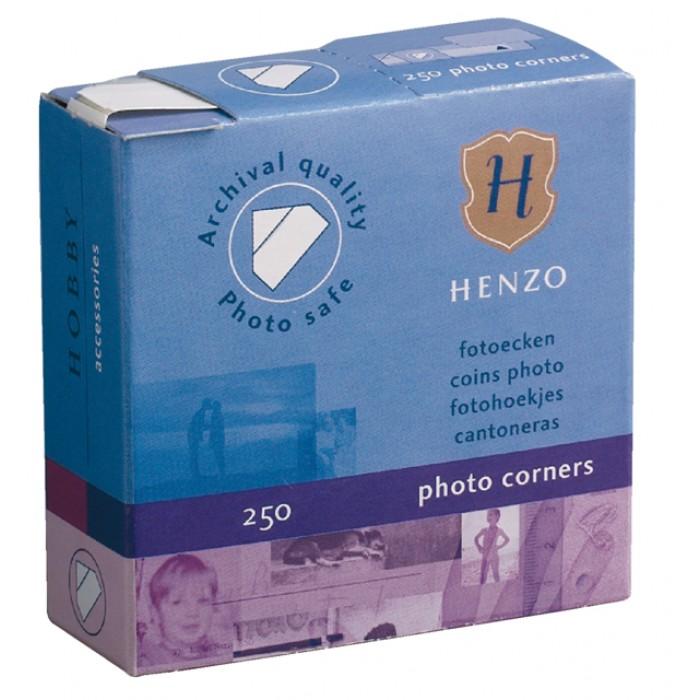 Fotohoekje Henzo dispenser 250stuks