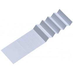 Ruiterstrook voor Alzicht hangmappen A5847-0 65mm wit