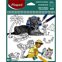 Kleurboek Maped 20x20 spiraal