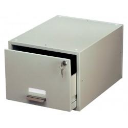 Kaartenbak Durable metaal A5 207x260x420mm lichtgrijs