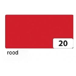 Fotokarton Folia 2zijdig 50x70cm 300gr nr20 rood