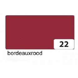 Fotokarton Folia 2zijdig 50x70cm 300gr nr22 bordeaux rood