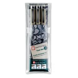 Fineliner Sakura Zentangle tool set 3delig