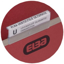 Ruiters Elba tbv vertifile hangmappen 65mm transparant