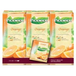 Thee Pickwick sinaasappel 25 zakjes van 1.5gr