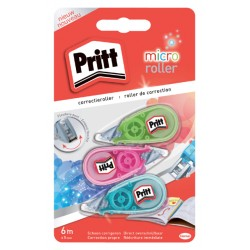Correctieroller Pritt 5mmx6m micro blister à  2+1 gratis