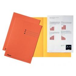 Inlegmap Esselte karton oranje