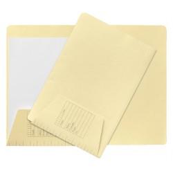 Binnenmap Jalema folio 160gr met flap lichtgeel