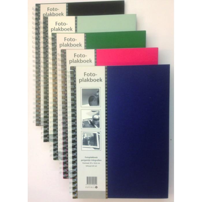 Fotoplakboek Papyrus 330x230mm assorti