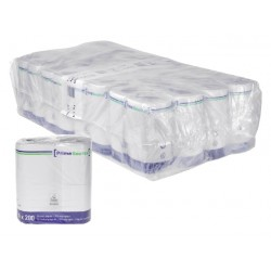 Toiletpapier PrimeSource Duo 2laags 200vel 64rollen