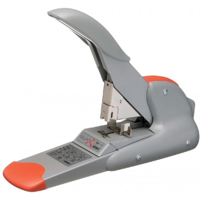 Blokhechter Rapid Duax Flat Clinch 170vel zilver/oranje