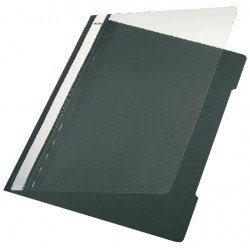 Snelhechter Leitz 4191 A4 PVC zwart