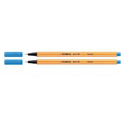 Fineliner STABILO point 88/32 ultramarijn blauw