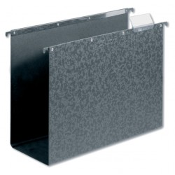 Hangmap Elba Vertic A4 80mm hardboard zwart