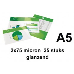 Lamineerhoes GBC A5 2x75micron 25stuks