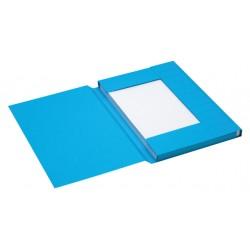 Dossiermap Jalema Secolor 225gr folio blauw