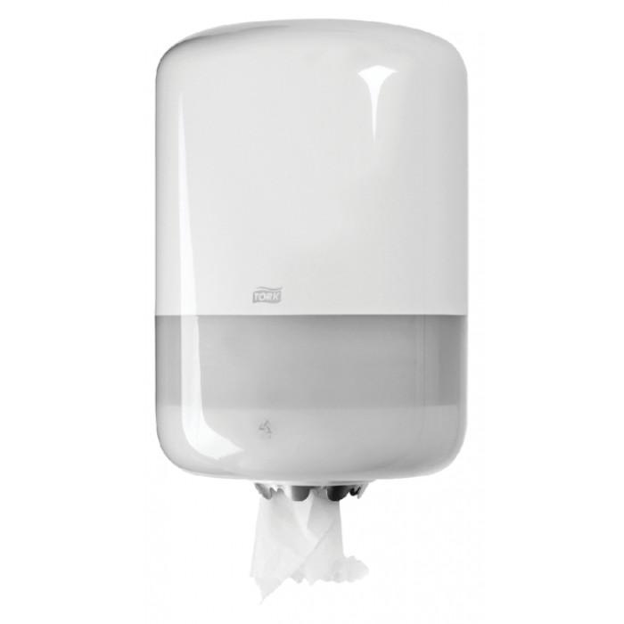 Dispenser Tork M2 559000 Midi poetsroldispenser wit