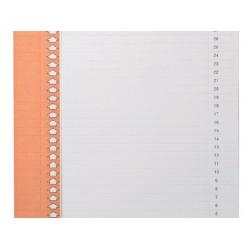 Ruiterstrook Elba Nr 0 297x6mm verticaal oranje