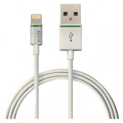 Kabel Leitz USB Lightning-A 0.30 meter wit