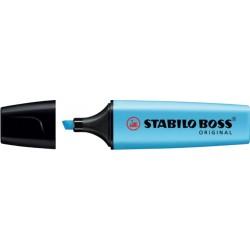 Markeerstift Stabilo Boss blauw