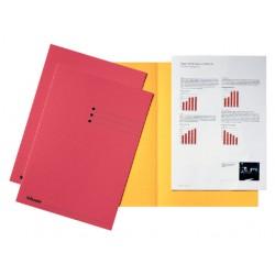 Inlegmap Esselte karton rood