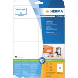 Etiket Herma 4363 105x48mm premium wit 300stuks