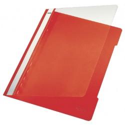 Snelhechter Leitz 4191 A4 PVC rood