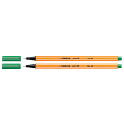 Fineliner STABILO pointt 88/36 smaragd groen