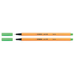 Fineliner STABILO point 88/43 licht groen