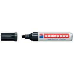 Viltstift edding 500 schuin zwart 2-7mm