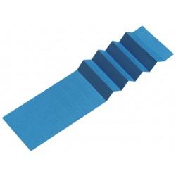 Ruiterstrook voor Alzicht hangmappen 65mm blauw