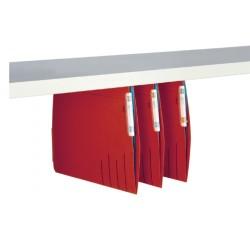 Hangmap Jalema Secolor lateraal voor legbord rood