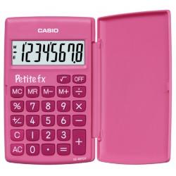 Rekenmachine Casio basisschool roze