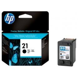 Inkcartridge HP C9351A 21 zwart