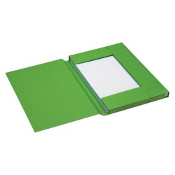 Dossiermap Jalema Secolor 225gr folio groen