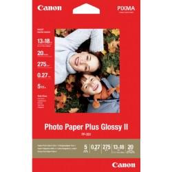 Inkjetpapier Canon PP-201 13x18cm 260gr plus 20vel